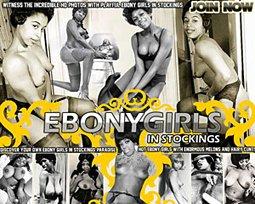 ebony girls in stockings