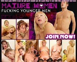 mature women fucking younger men