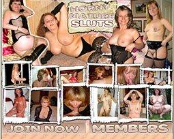 horny mature sluts