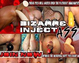 bizarre ass inject