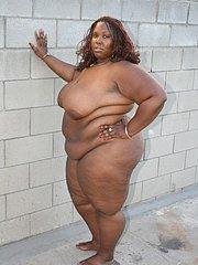 big beautiful black woman