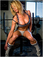 sexy fitness woman
