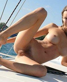 adorable naked babes shows vagina FKK beach