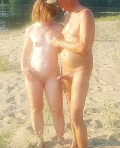 increased nudist sexuality - accidental male's erections on beach