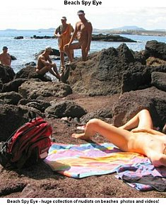 increased nudist sexuality on the nudist beach