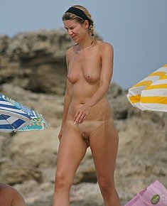 nude beach shots