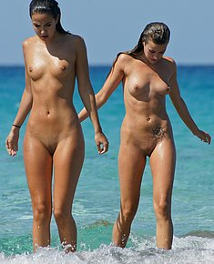 spy beach nude