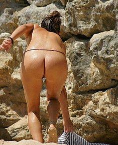 spy beach nude