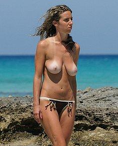 nude beach shots