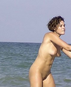 sunburned nudist babes seduces men FKK beach