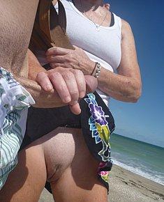 Fucking on beach