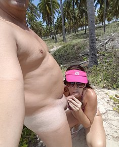 Caught sex on beach