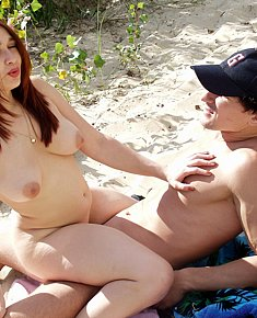 Make love on beach