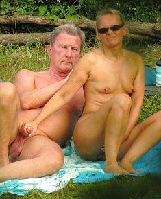 Nudist sex  on beach