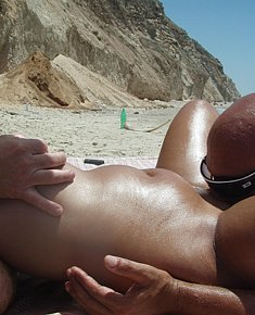 Fucking on beach