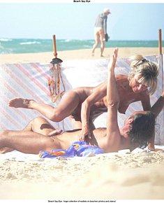 Erected nudist on beach wants nudist girls
