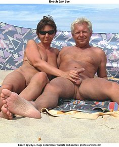 increased nudist sexuality and erections on beach